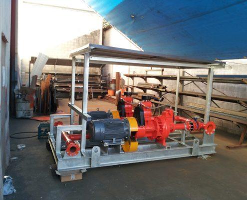 Pump set