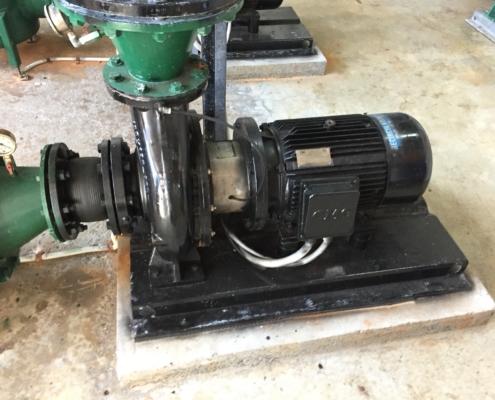 Pool pump repairs