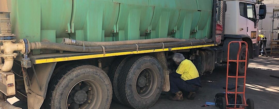 Water Truck Pump