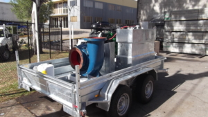 Trailer mounted Pump Set