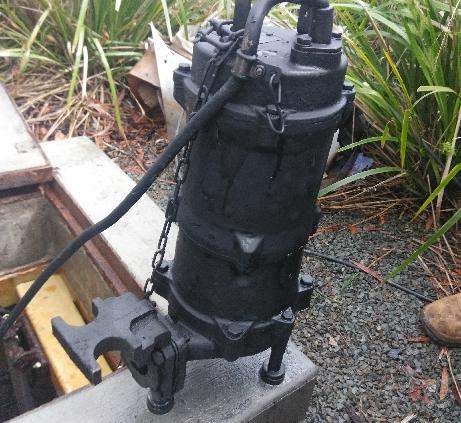 Sewage Pump Repairs