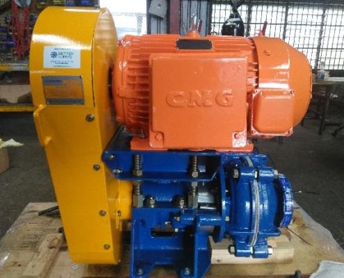 Warman Pump set